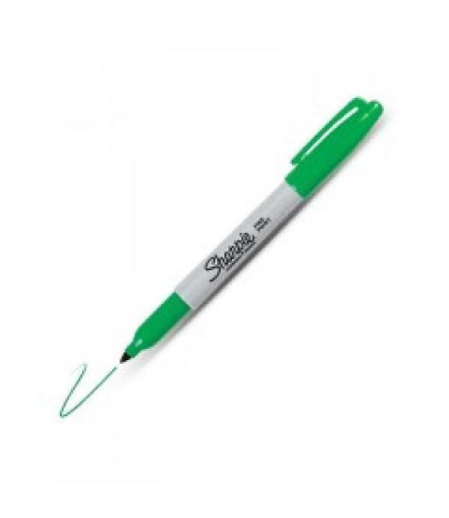 Sharpie Fine Point Permanent Marker 1mm grün