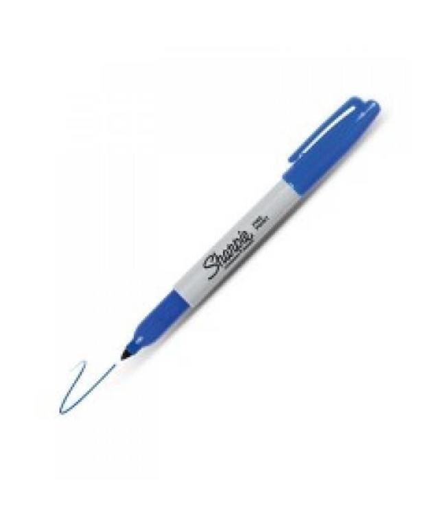 Sharpie Fine Point permanent marker 1mm blauw