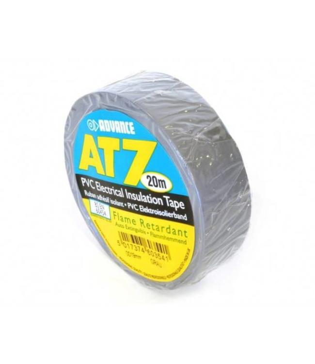 Advance AT7 PVC tape 19mm x 20m Grijs