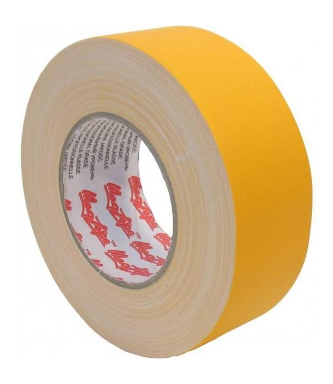 Magtape MagTape Gaffa Matt500 50 mm x 50 m Geel