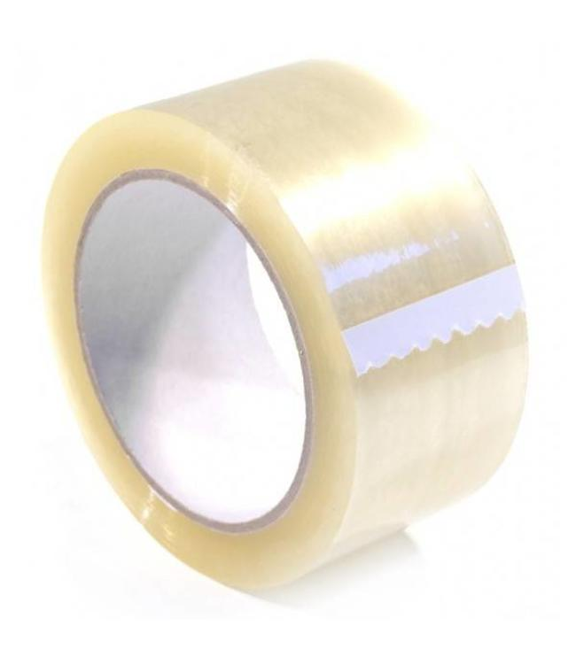TD47 Products TD47 Verpakkingstape PP low noise 50mm x 66m Transparant