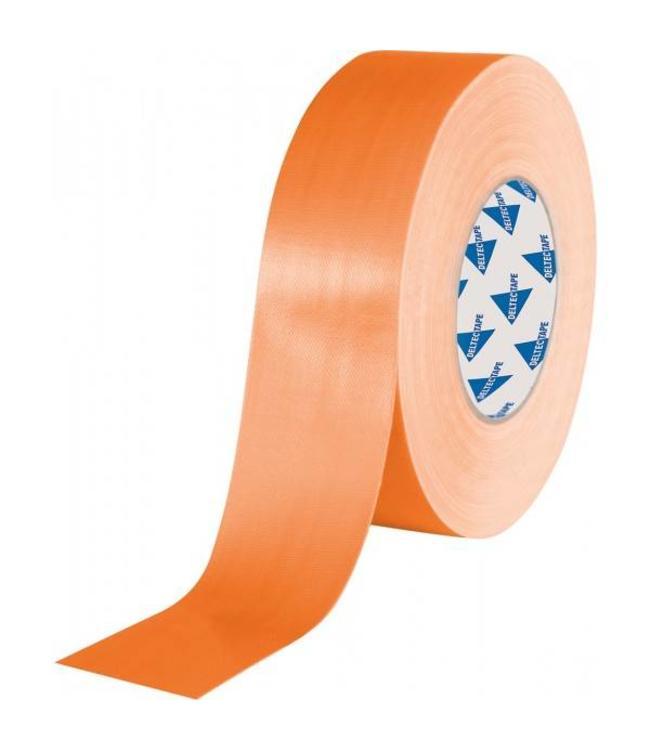 Deltec Gaffa Tape Pro 50mm x 25m Oranje