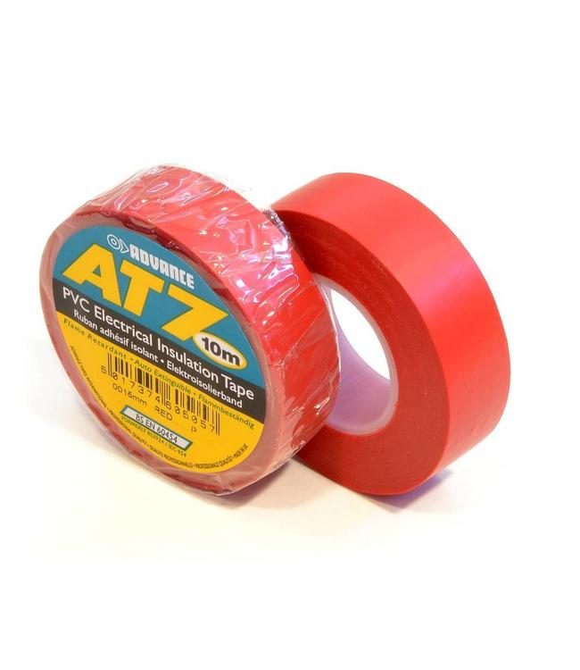Advance AT7 PVC tape 19mm x 20m Rood