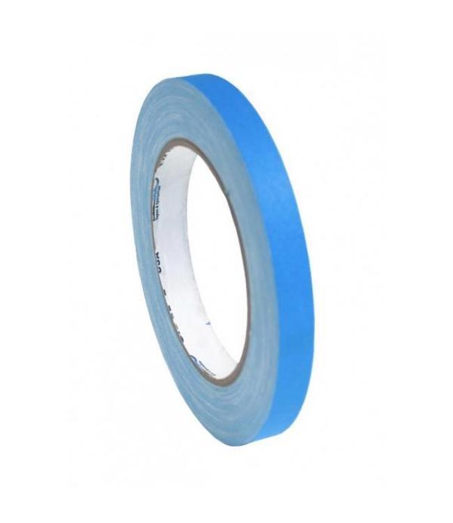 Pro Tapes Pro-Gaff neon gaffa tape 12mm x 22,8m Blauw