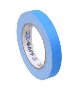 Pro-Gaff Pro-Gaff neon gaffa tape 19mm x 22,8m Blauw