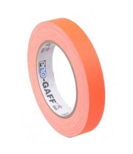 Pro Tapes Pro-Gaff neon gaffa tape 19mm x 22,8m Oranje