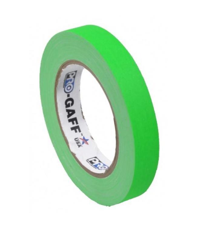 Pro-Gaff Neon Gaffa Tape 19mm x 22,8m Grün