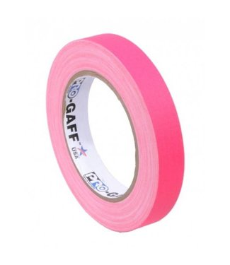 Pro Tapes Pro-Gaff neon gaffa tape 19mm x 22,8m Roze