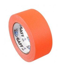 Pro Tapes Pro-Gaff neon gaffa tape 48mm x 22,8m Oranje