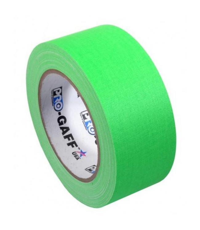 Pro-Gaff neon gaffa tape 48mm x 22,8m Groen