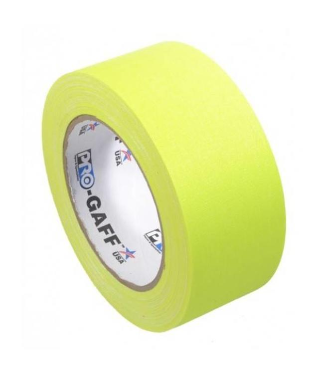 Pro Tapes Pro-Gaff neon gaffa tape 48mm x 22,8m Geel