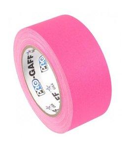 Pro-Gaff Pro-Gaff neon gaffa tape 48mm x 22,8m Roze