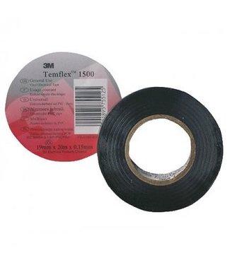 3M Ruban isolant de 3 m 15 mm x 10 m T1500 Noir