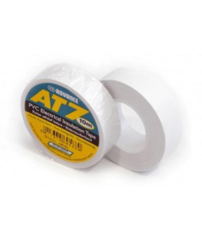 Advance AT7 PVC tape 19mm x 20m Wit