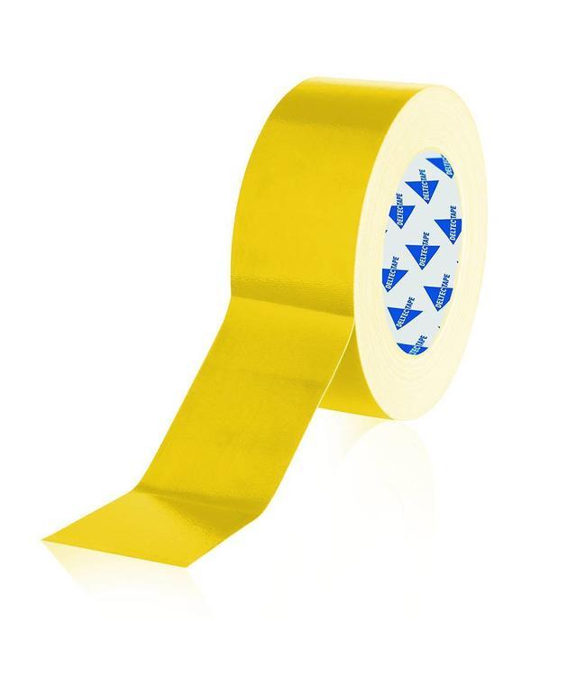 Deltec Deltec Gaffa Tape Pro 50mm x 25m Gelb