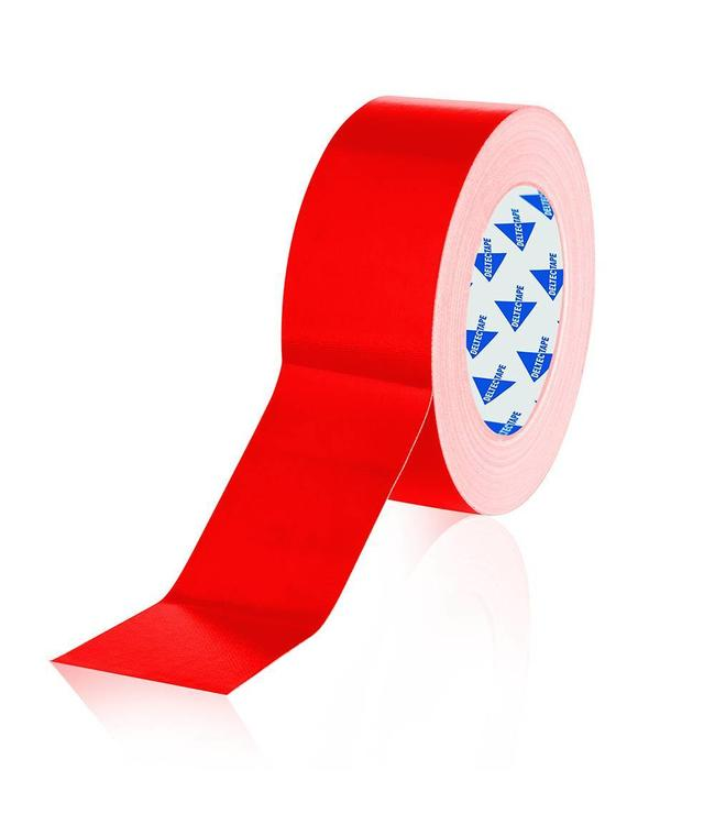 Deltec Gaffa Tape 50mm x 25m Red Pro