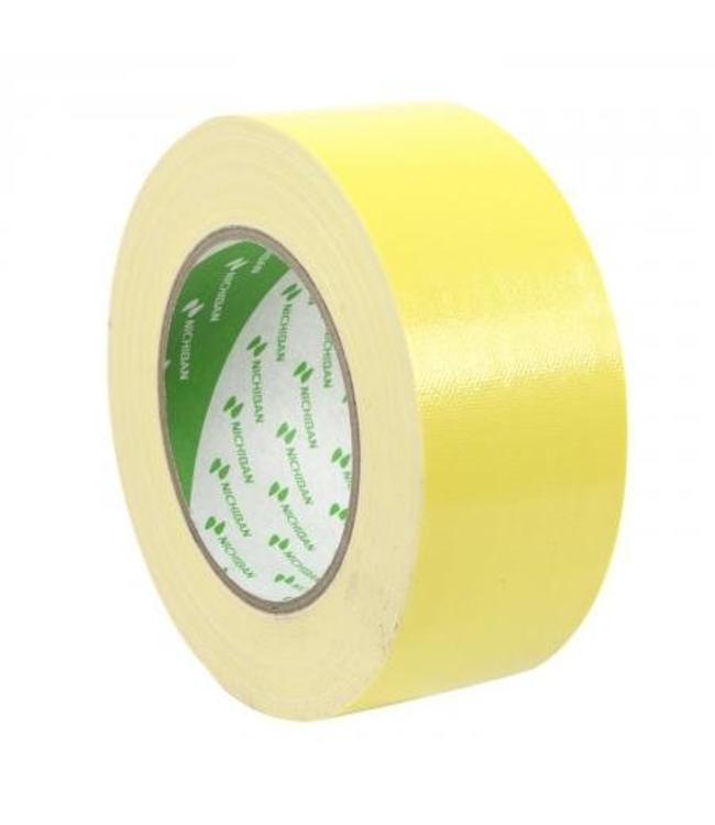 Nichiban Nichiban Gaffa Tape 50mm x 25m Gelb