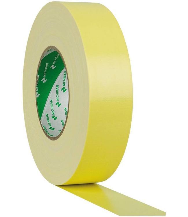 Nichiban Gaffa Tape 25mm x 50m Gelb
