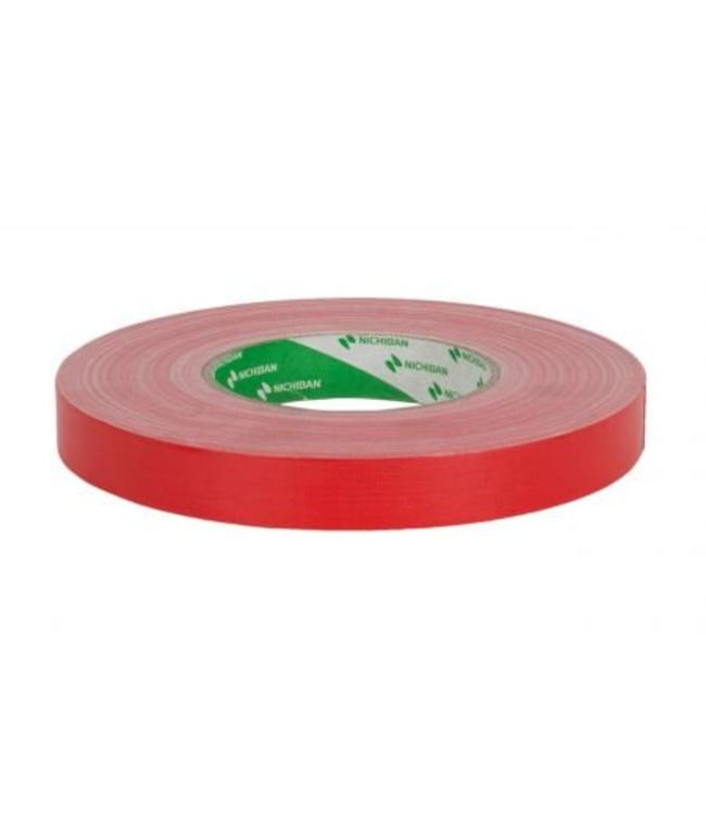 Nichiban Gaffa Tape 19mm x 50m Rood
