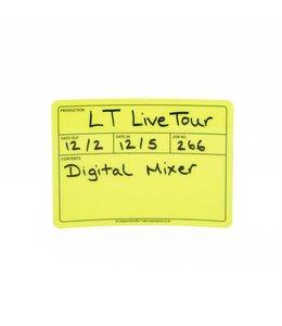 Le'Mark Group Visi-PAL™ Tour Label 178mm x 127mm Fluor Geel