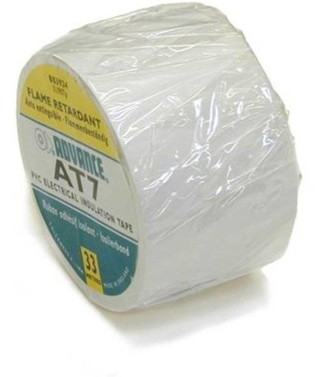 Advance AT7 PVC tape 50mm x 33m Wit