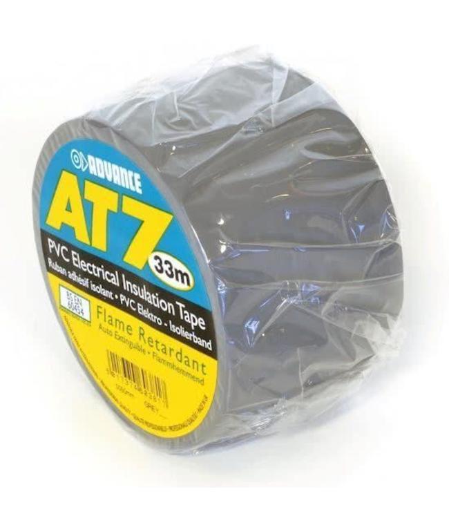 Advance AT7 PVC tape 38mm x 33m Grijs