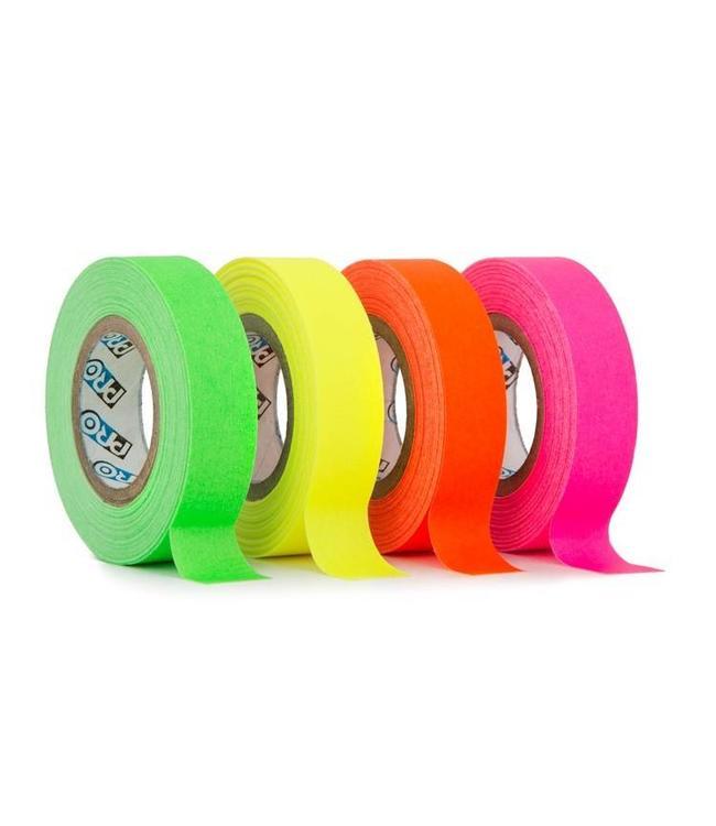 Pro fluor tape mini rollen 12mm x 9,2m – kleurenmix
