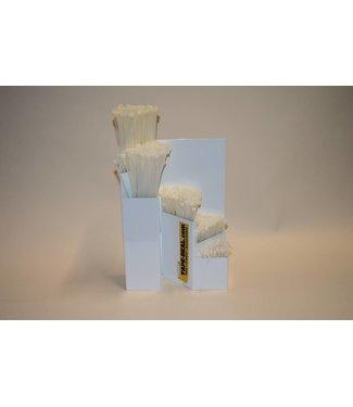Tyrap-Deal.com Speichersystem mit weißen Kabelbindern