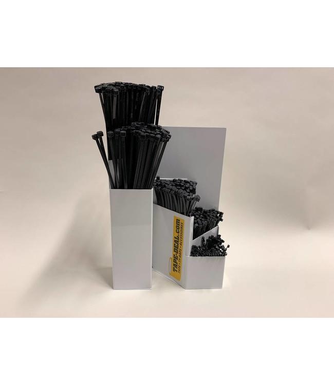 Speichersystem mit schwarzen Kabelbindern