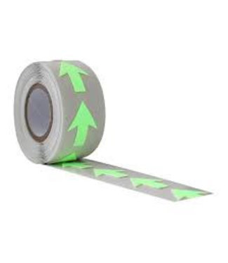 Pro Tapes Pro Glow in the dark pijlen - 20 stuks
