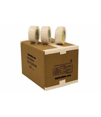 Nichiban Nichiban Gaffa Tape 50mm x 25m Wit - doos 30 rollen