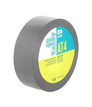 Advance Advance AT4 PVC tape 19mm x 20m Grijs