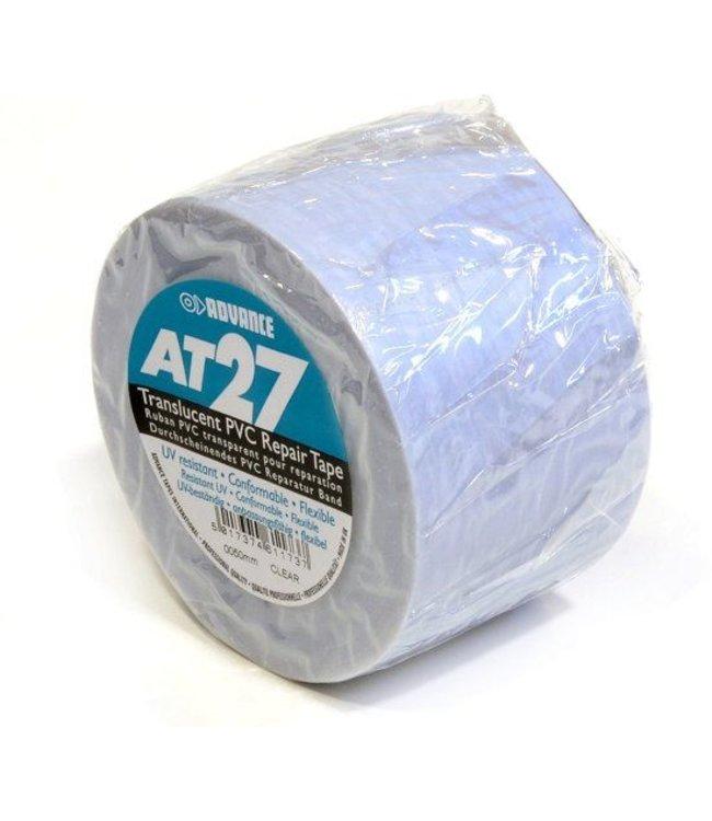 Advance AT27 PVC tape 50mm x 33m Transparant