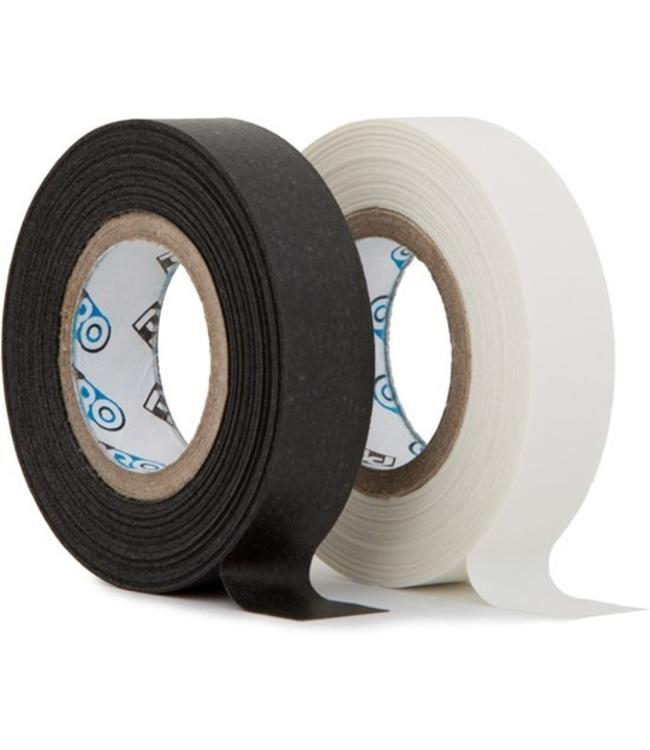 Pro Fluor Minibandrolle 12mm x 9,2m - schwarz und weiß