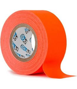 Pro fluor tape mini rol 24mm x 9.2m Neon Oranje