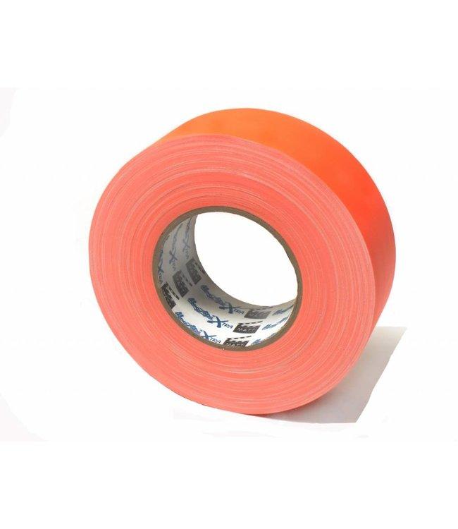 MagTape XTRA Matt Gaffa 50mm x 50m Neon Oranje