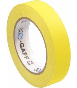 Pro Tapes Pro-Gaff Gaffa Tape 24mm x 22,8m Geel