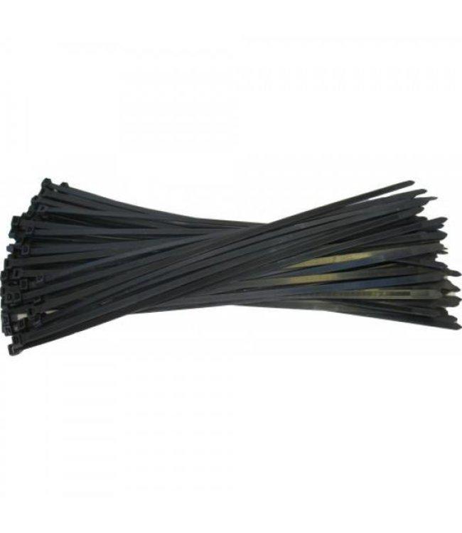 Kabelbinder vulling zwart voor opbergsysteem