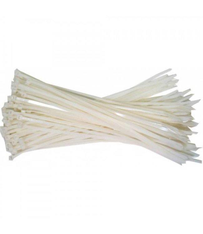 Kabelbinder weiße Füllung für die Lagerung