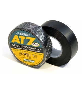 Advance Advance AT7 PVC tape 15mm x 10m Zwart