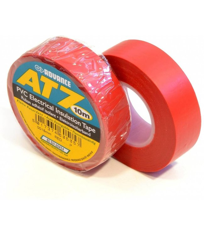Advance AT7 PVC tape 15mm x 10m Rood