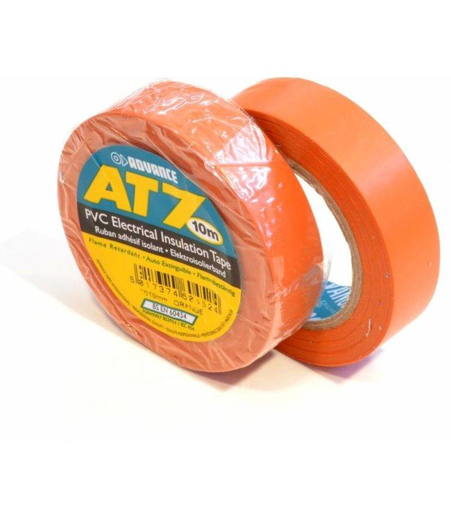Advance-AT7 PVC Band 15mm x 10m orange
