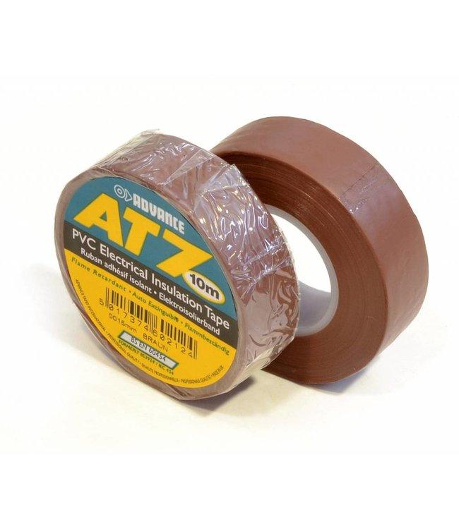 Advance AT7 PVC tape 15mm x 10m Bruin