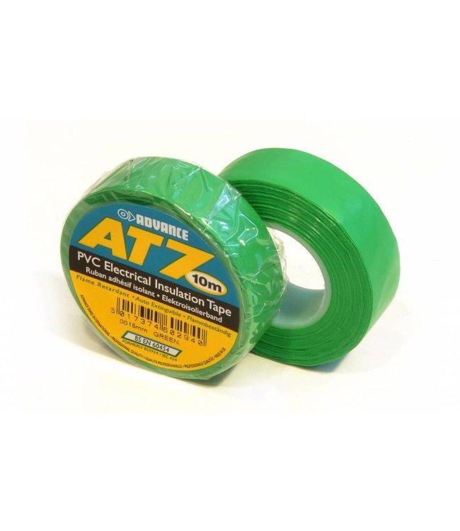 Advance Advance AT7 PVC tape 15mm x 10m Groen