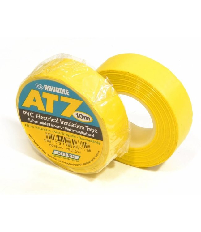 Voraus AT7 PVC-Band 15mm x 10m Yellow