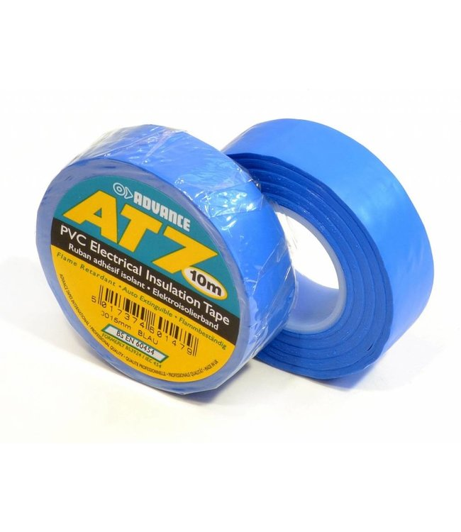Advance-AT7 PVC Band 15mm x 10m blau