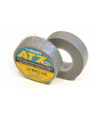 Advance Advance AT7 PVC tape 15mm x 10m Grijs