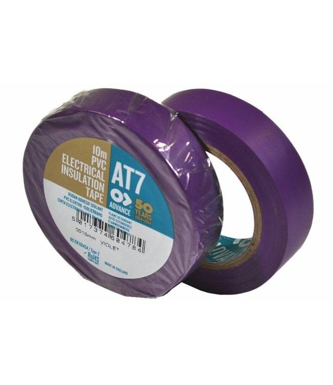 Advance-AT7 PVC Band 15mm x 10m Lila