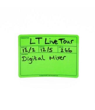 Le'Mark Group Visi-PAL™ Tour Label 178mm x 127mm Fluor Groen