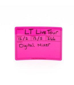 Visi-PAL™ Visi-PAL™ Tour Label 178mm x 127mm Fluor Roze